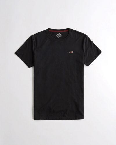 e2186ced68 HOLLISTER póló – környakú, fekete (XS-XL)
