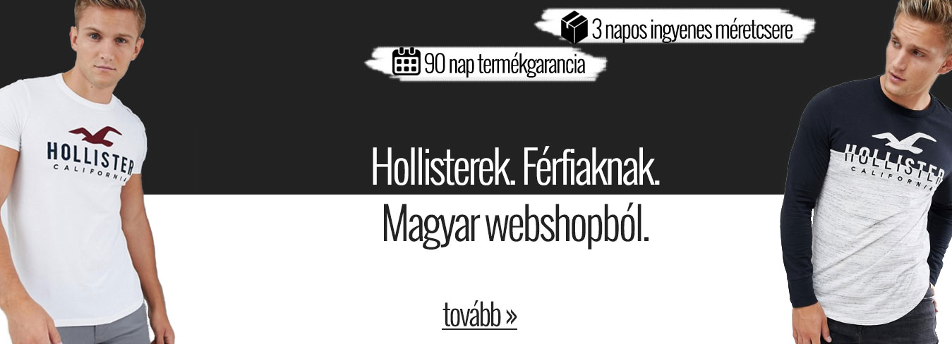 Hollister webshop