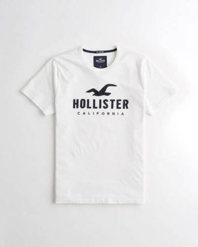 Hollister póló – hímzett mintás (XS-XXL) e87da95091