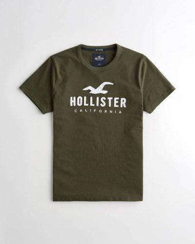 Hollister póló – hímzett mintás (XS-XXL) d3cba116a1