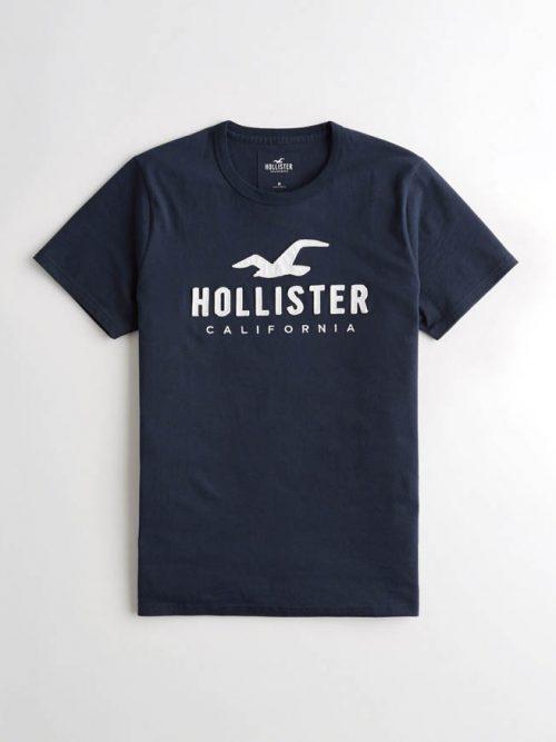 Hollister póló – hímzett mintás (XS-XXL) da60cbd97e
