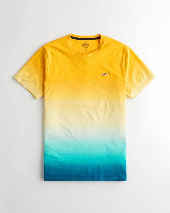 e558d4c72a HOLLISTER póló – színtömbös (S-M) - Men's Shop webshop