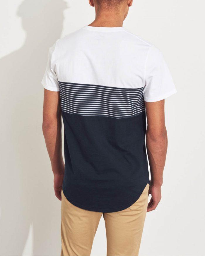 f6d3fb92a6 HOLLISTER póló – színtömbös (XS-S) - Men's Shop webshop